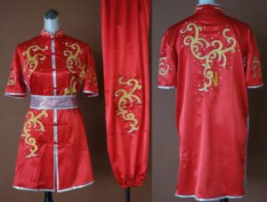 Wushu Red Clouds Silver rim