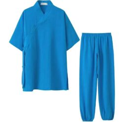 New middle-sized sleeves model of the traditional WuDang Taiji uniform - practical and cozy variant for the hot months.