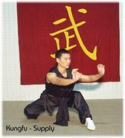 Wushu nan quan kung fu uniform no collar sleeveless